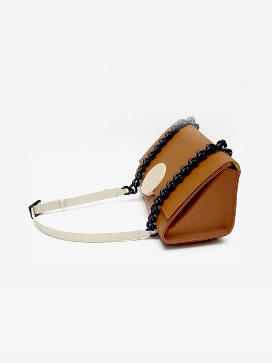 더조엘르 | MatterMatters - [MATTER MATTERS] 홍콩인기 숄더백  - Pythagoras Shoulder Bag Brown