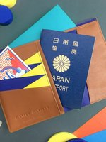 더조엘르 | MatterMatters - [MATTER MATTERS] 디자인 여권지갑 - Bauhaus Passport Wallet Brown
