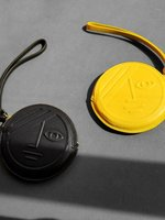 더조엘르 | MatterMatters - [MATTER MATTERS] 이클립스 디자인 동전지갑  - Phase & Eclipse Coin Purse Black/Yellow